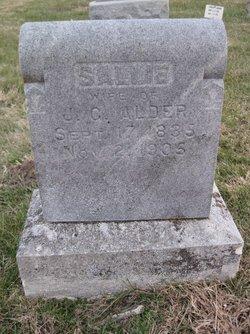 Sarah Sallie <i>Hickman</i> Alder