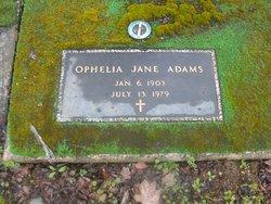 Ophelia Jane <i>Wade</i> Adams