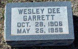 Wesley Dee Garrett