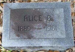 Alice B <i>Bradley</i> Newton