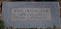 Mary Emaline <i>Taylor</i> Rich