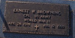 Ernest W Browning