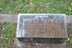 Julius McDonald Abbott, Jr
