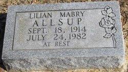 Lilian Mabry Allsup