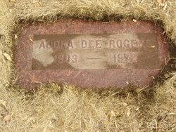 Audra Dee Mervine <i>Willis</i> Rogers
