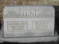 Agatha <i>Day</i> Lunt