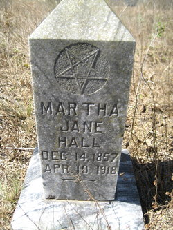 Mary Jane Mattie <i>Smith</i> Hall
