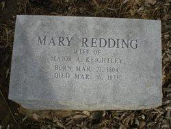 Mary <i>Redding</i> Keightley