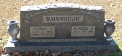 Thomas Jesse Wainwright