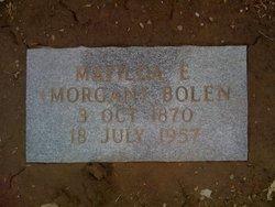 Matilda Elizabeth Lizzie <i>Morgan</i> Bolen