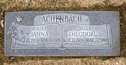 Janna <i>Van Der Tuin</i> Achenbach