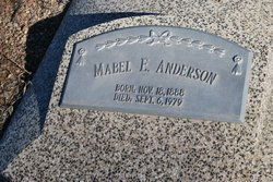 Mabel Eleanora <i>High</i> Anderson