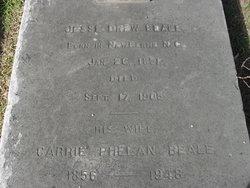 Caroline Blount Carrie <i>Phelan</i> Beale