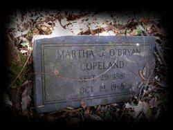 Martha J <i>O'Bryan</i> Copeland