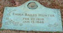 Emma C. <i>Bailes</i> Hunter