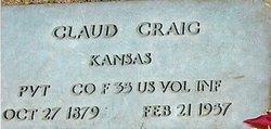 Claud Ernest Claudie Craig