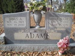 Minnie <i>Hughes</i> Adams