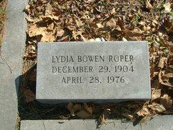 Lydia <i>Bowen</i> Roper