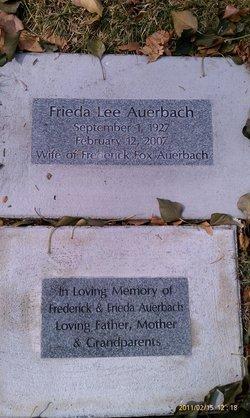 Frieda <i>Lee</i> Auerbach