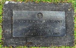 Frederick W. Sargant