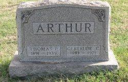 Gertrude C. <i>Frank</i> Arthur