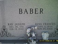 Elna Frances Fran /Fannie <i>Garner</i> Baber
