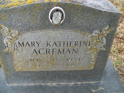 Mary Katherine Acreman