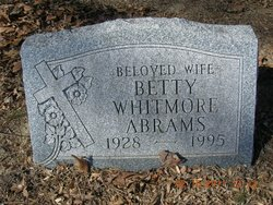 Betty <i>Whitmore</i> Abrams