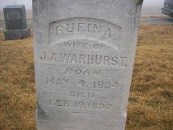 Rufina <i>Vincent</i> Warhurst