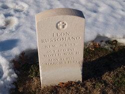 Sgt Leon Russomano