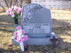 Arvella Jackie <i>Kimble</i> Cobb