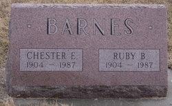 Chester E Toots Barnes
