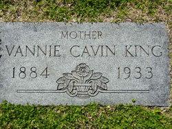 Vannie Gertrude Annie <i>Cavin</i> King