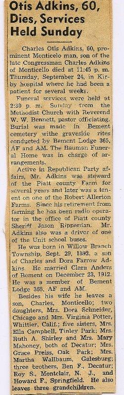 Charles Otis Adkins