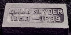 Emma Caroline <i>Chapman</i> Snyder