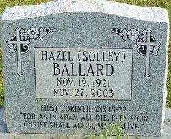 Hazel <i>Solley</i> Ballard