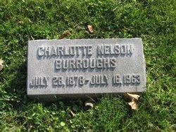 Charlotte <i>Nelson</i> Burroughs