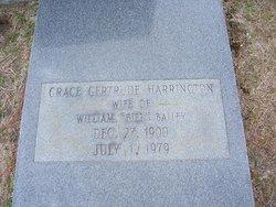 Grace Gertrude <i>Harrington</i> Bailey