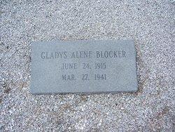 Gladys Alene Blocker