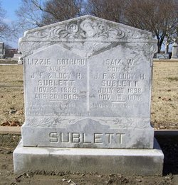 Lizzie <i>Sublett</i> Gothard