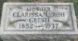Clarissa Clara <i>Lerch</i> Gresh