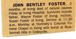 John Bentley Foster