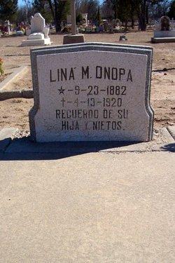 Lina M Onopa