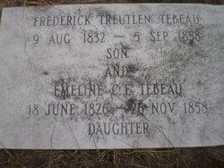 Emeline C. E, Tebeau