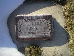 Don Wesley Averett