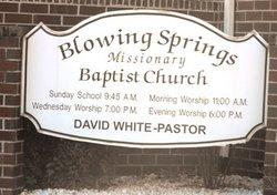 Blowing Springs Cemetery