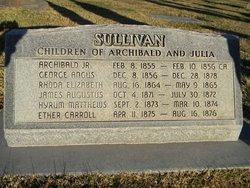 Hyrum M Sullivan