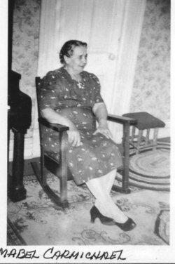 Mabel Lottie <i>Deardorff</i> Carmichael