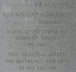Rev William H. Jackson
