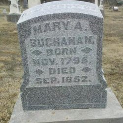 Mary A Buchanan